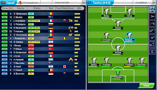 formasi Top Eleven Manager