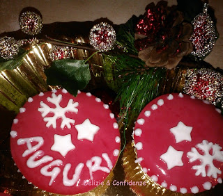 Cupcake di Natale -Cupcake alla vaniglia