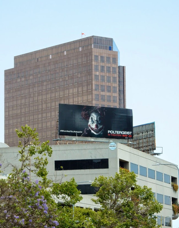 Poltergeist movie billboard