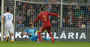 Eliminatorias Eurocopa 2016 Eslováquia 2 x 1 Espanha