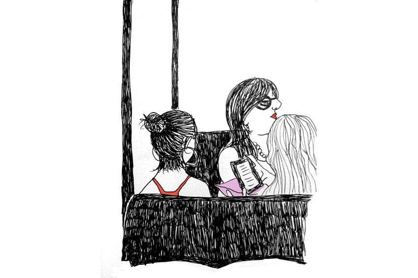 Esboç d'il·lustració a la llibreta ©Imma Mestre Cunillera
