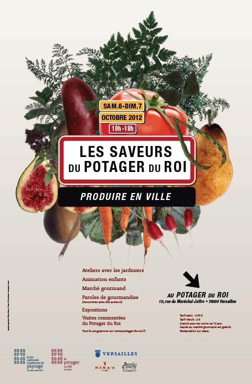 Positive eating positive living les saveurs du potager du roi ch teau de versailles - Le potager du roi ...