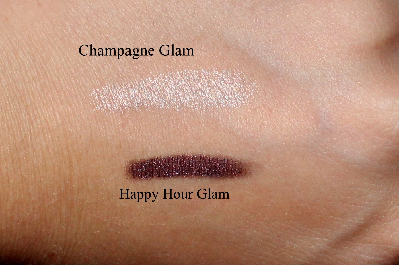 Lise Watier 24 HRS Glam Eyeshadow Swatches