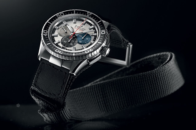 Zenith Onlywatch El Primero Stratos Flyback Striking 10th Tribute to Felix Baumgartner
