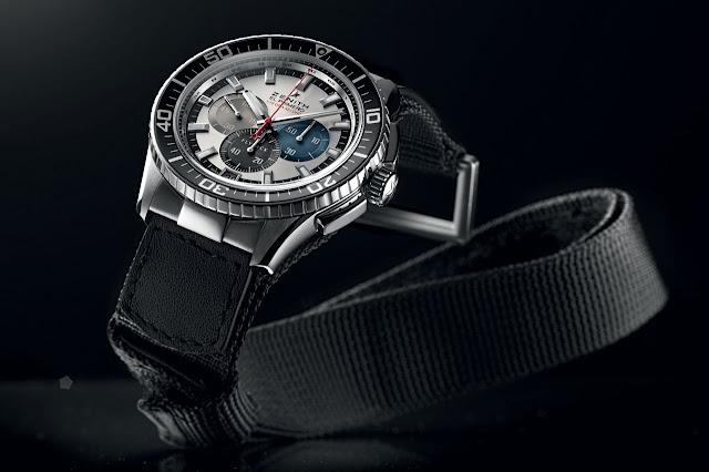 Zenith Onlywatch El Primero Stratos Flyback Striking 10th Tribute to Felix Baumgartner
