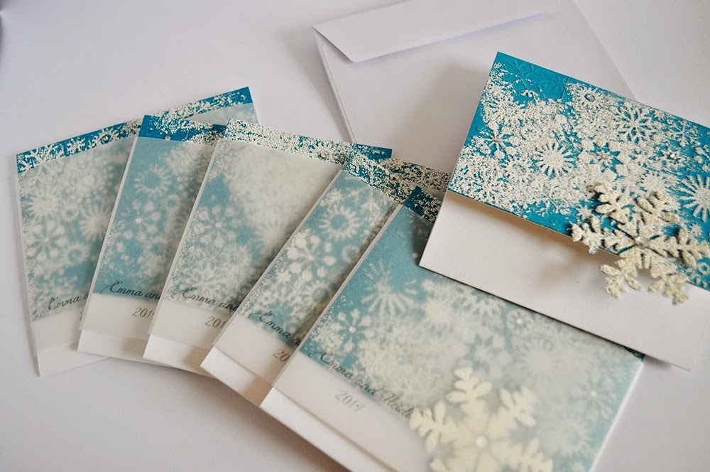 winter wonderland invitations part 1 handmade by meda