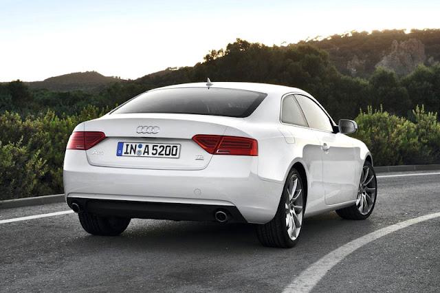 2012 Audi A5 Coupe Back Exterior