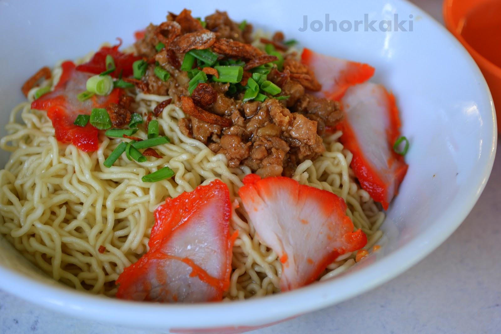 Kolo mee famous sarawak food johor kaki travels for for X cuisine miri
