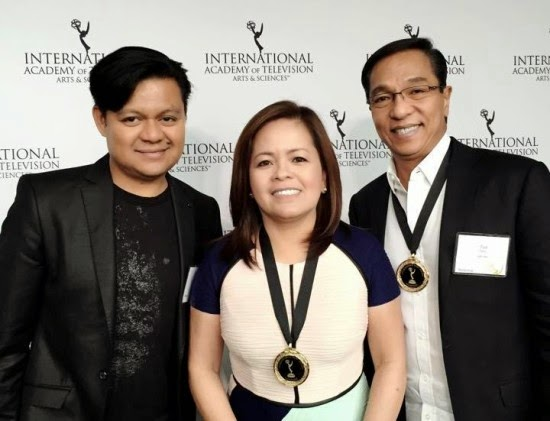 ABS-CBN News receives honors at International Emmy Awards 2014