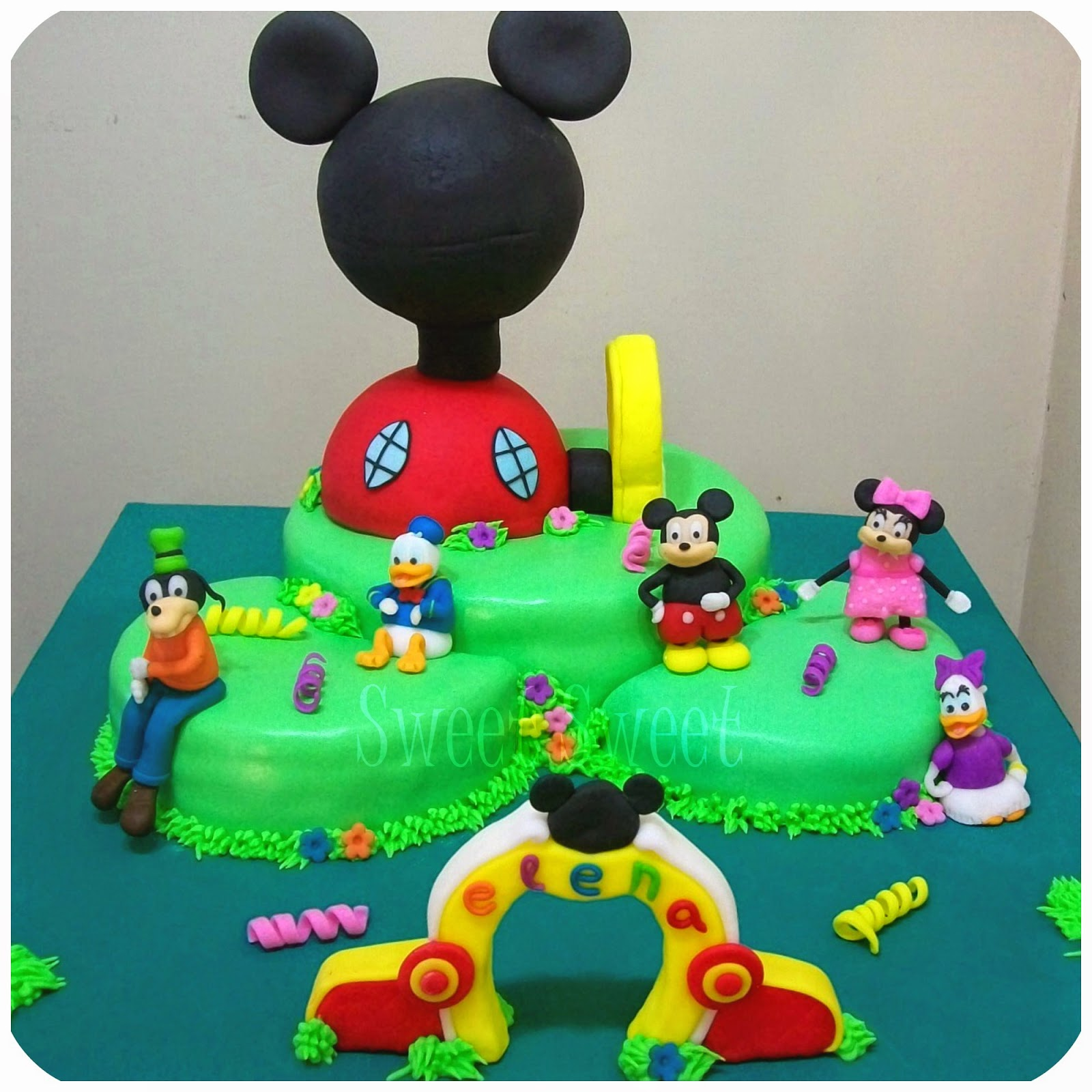 Sweet sweet pasteleria tortas decoradas cumple tem tico for Decoracion la casa de mickey mouse