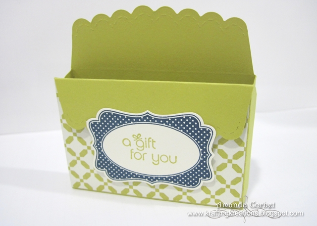 Scallop Envelope Box