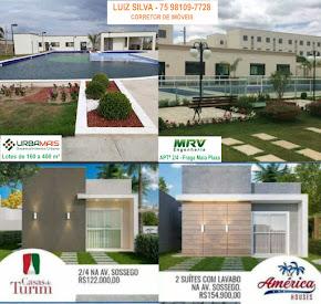 Vendas de casas, apartamentos e lotes