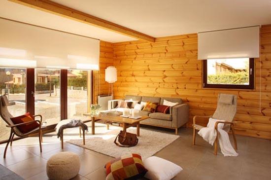 Log Home Interior Design Ideas and Log Home Interiors | Interior ...