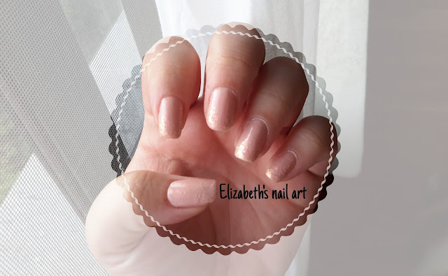 Diseño nail art color nude