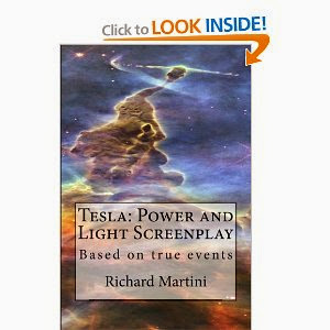 "My screenplay ""Tesla: Power and Light"" at Amazon"