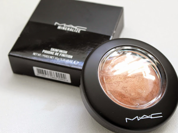 MAC Mineralize Skinfinish Cheeky Bronze.