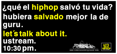 LTHH: &#191;qu el hiphop salv tu vida? hubiera salvado mejor la de guru.