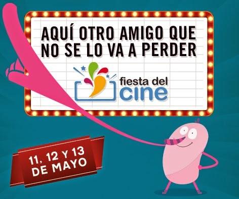 Fiesta Del Cine (11,12 y 13 de mayo)