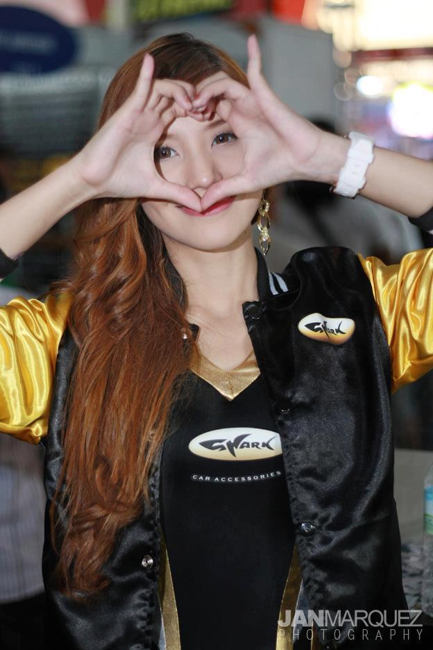 KRISTINE SANTAMENA at Manila International Auto Salon 2013