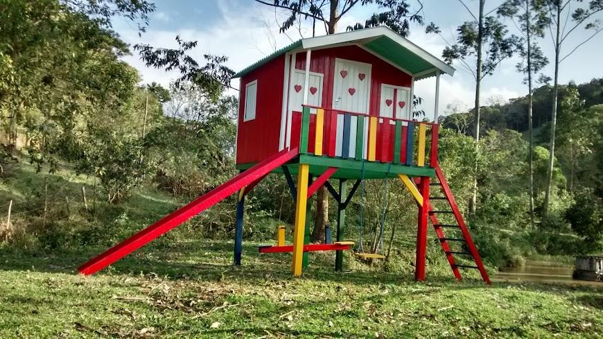 Casa com playground