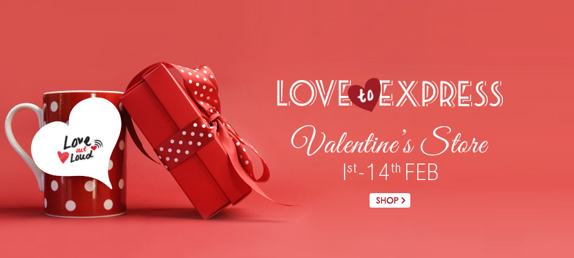 Snapdeal Valentine Store ( Love To Express)