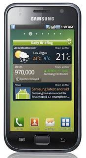 Spesifikasi Samsung Galaxy S I9000