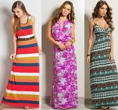 fotos de vestidos longos para baixinhas - looks, fotos e dicas