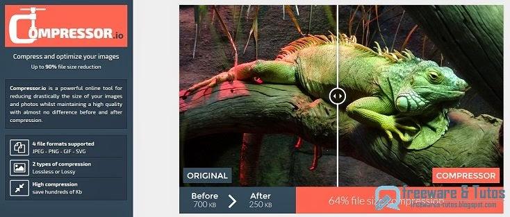 compressor io   un service en ligne gratuit de compression et d u0026 39 optimisation des images