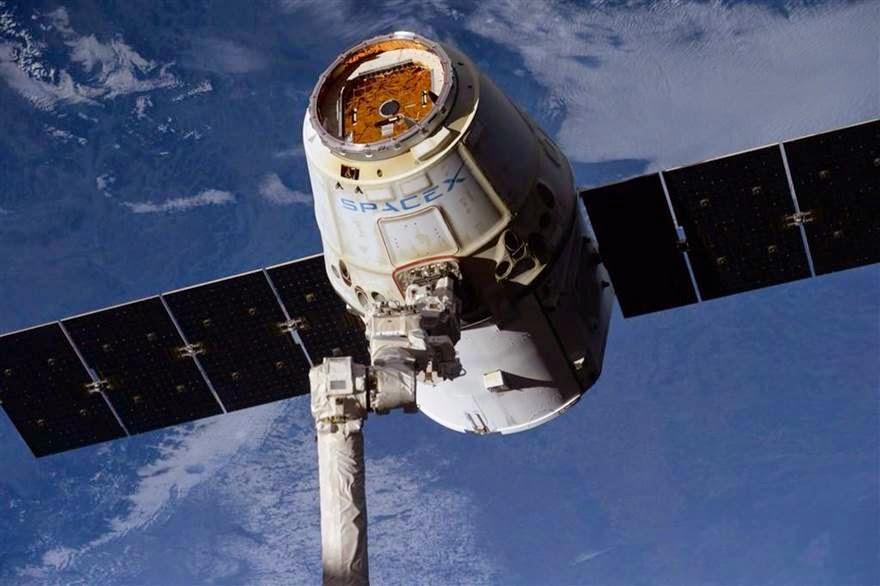 Το SpaceX επέστρεψε στη Γη φορτωμένο με εργαστηριακά αποτελέσματα.
