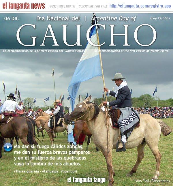 El gaucho es un tipo de campesino característico de las llanuras de Argentina, Uruguay, Paraguay, sur de Brasil (Río Grande del Sur) y extremo sur de Chile,