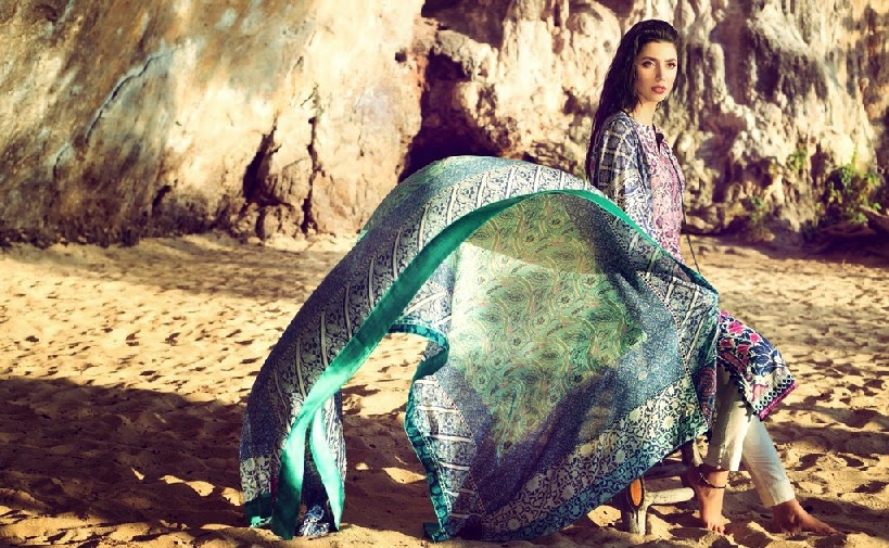 ELANLawnSpring SummerCollection2014 wwwfashionhuntworldblogspotcom 01 - Elan Lawn Spring Collection 2014 By Khadijah Shah