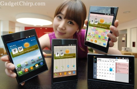 LG Optimus Vu : Specs & Features