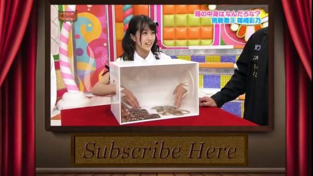 Des japonaises tentent de deviner le contenu dégueulasse d'une boîte, show japonais weird