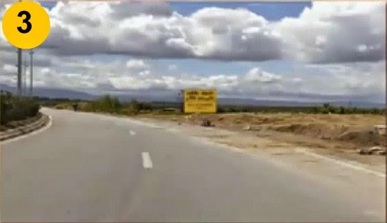 الطريق غادي والي مقطوع