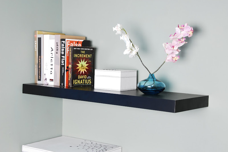 Everything about wall shelves: Chicago floating shelf