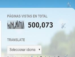 500.000 GRACIAS!!!!