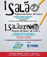 MENÇÃO HONROSA: CARICATURA  - Salão Regional de Humor de Guaíra, SP (2012)