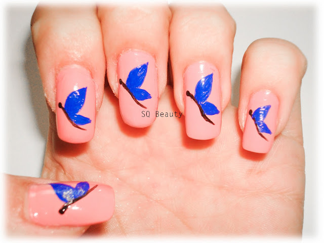 Nail Friday Butterflies Silvia Quiros SQ Beauty Uñas