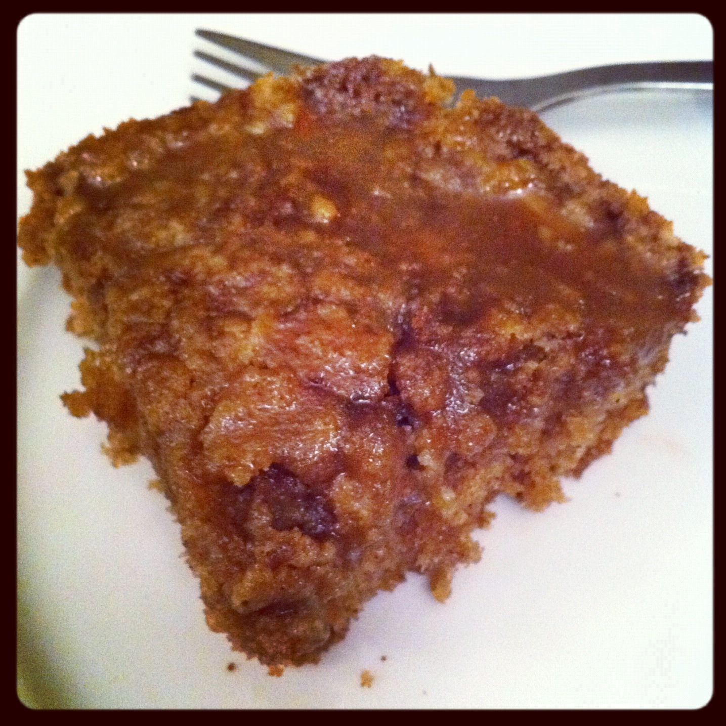 bake shop: apple coffee cake with crumble topping and ...