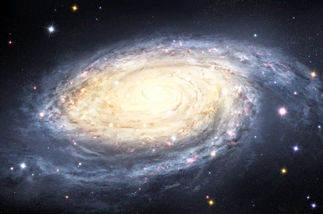 Galaksi Bima Sakti yang Terus Bergolak