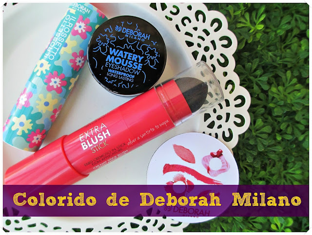 Water Collection + Extra Blush de Deborah Milano