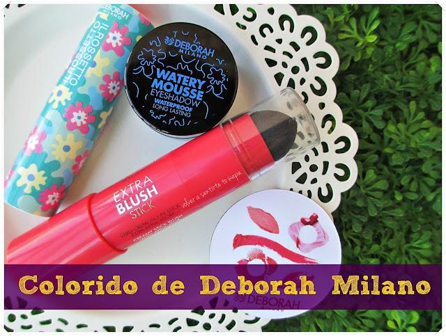 Water Collection + Extra Blush de Deborah Milano