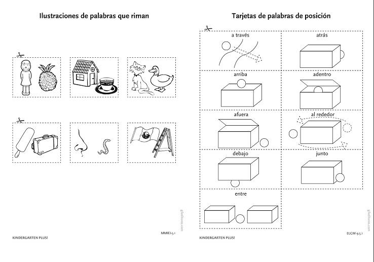 LIBROS: PREESCOLAR Kindergarten Plus ACTIVIDADES