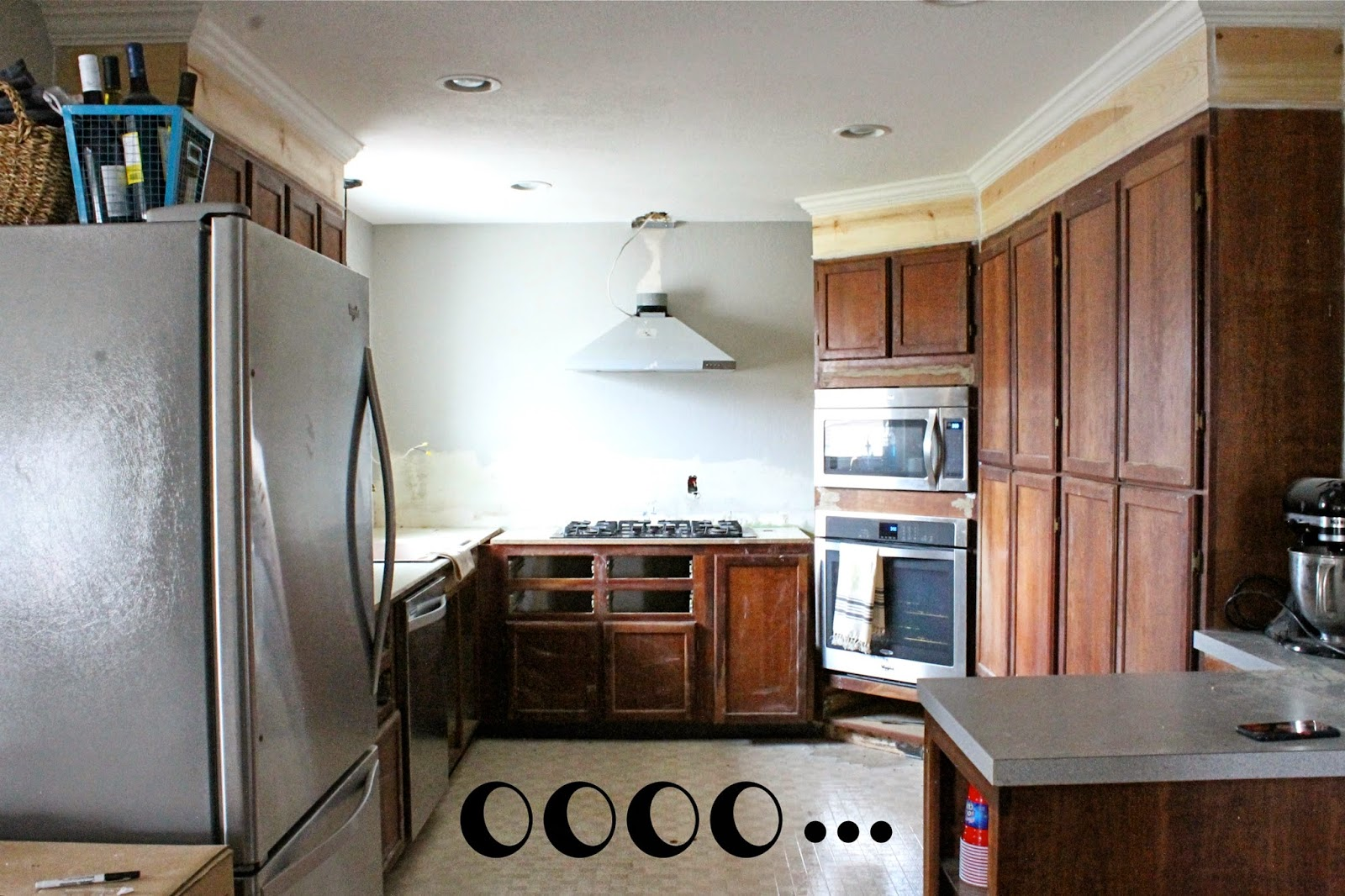 Wonderfully Made: Extending Kitchen Cabinets to the Ceiling