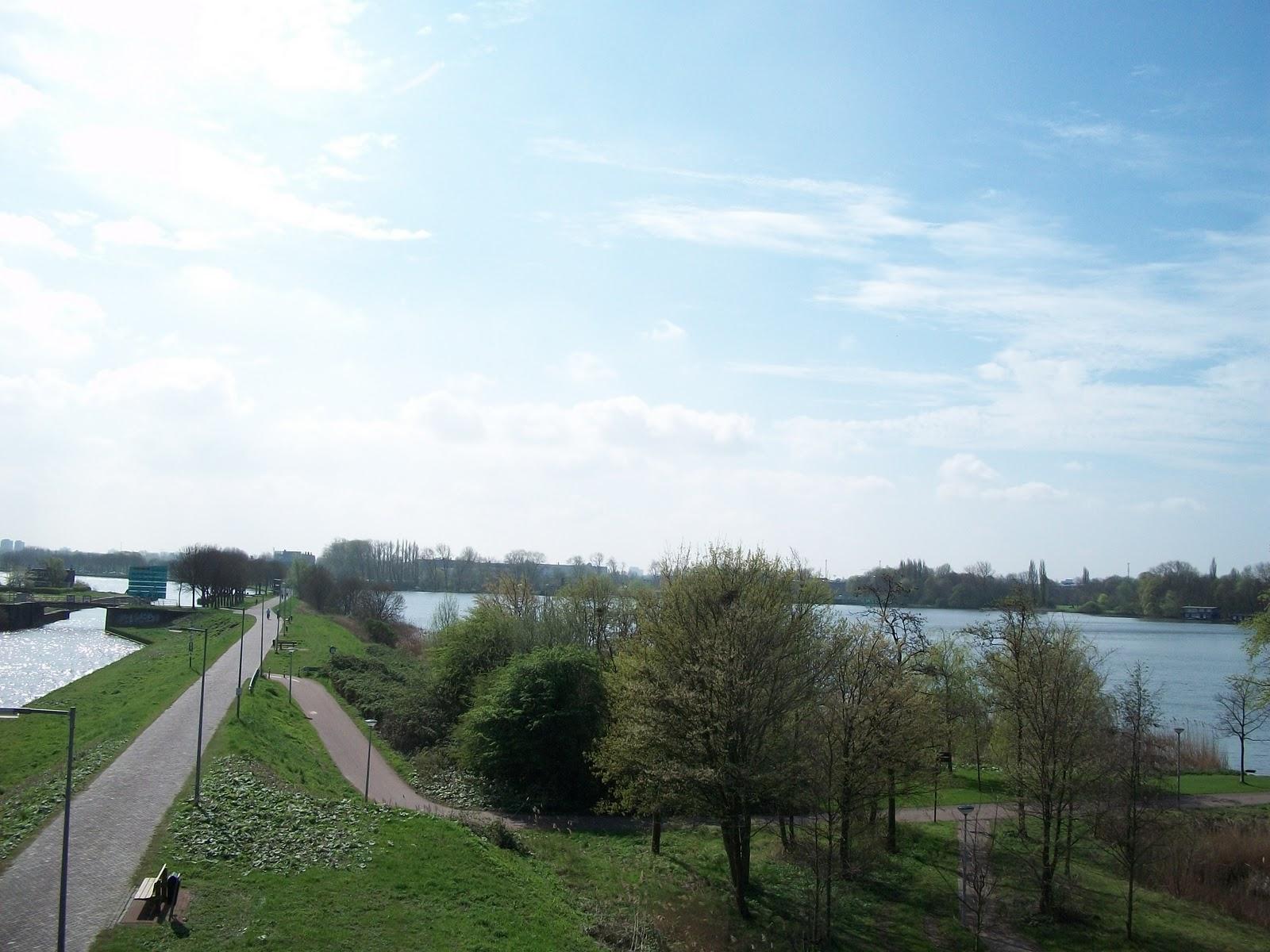 Zuiderzeepad: april 2011