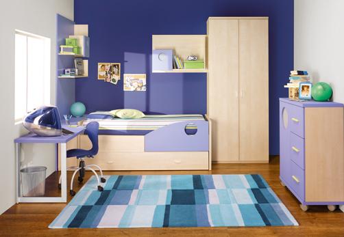 Colores relajantes para pintar dormitorios dormitorios con estilo - Space saving ideas for small childrens bedrooms minimalist ...