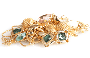 Jewellery is a common item stolen in a burglary