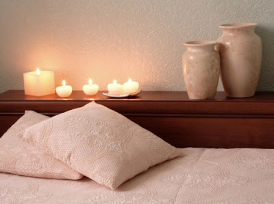 Home Interior Design Ideas ,Candle Lights For Bedroom , http://homeinteriordesignideas1.blogspot.com/