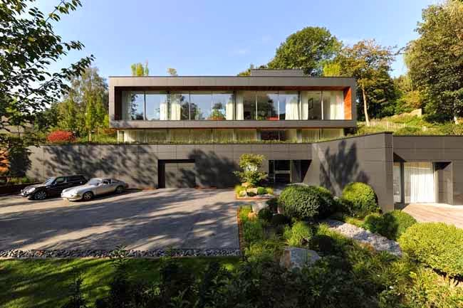 Casas minimalistas y modernas casa moderna de diseno en for Alfombras belgas originales