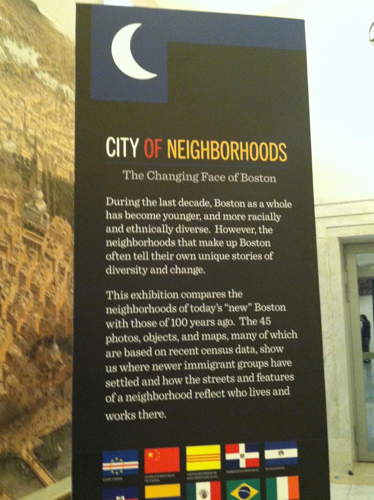 City of Neighborhoods Boston
